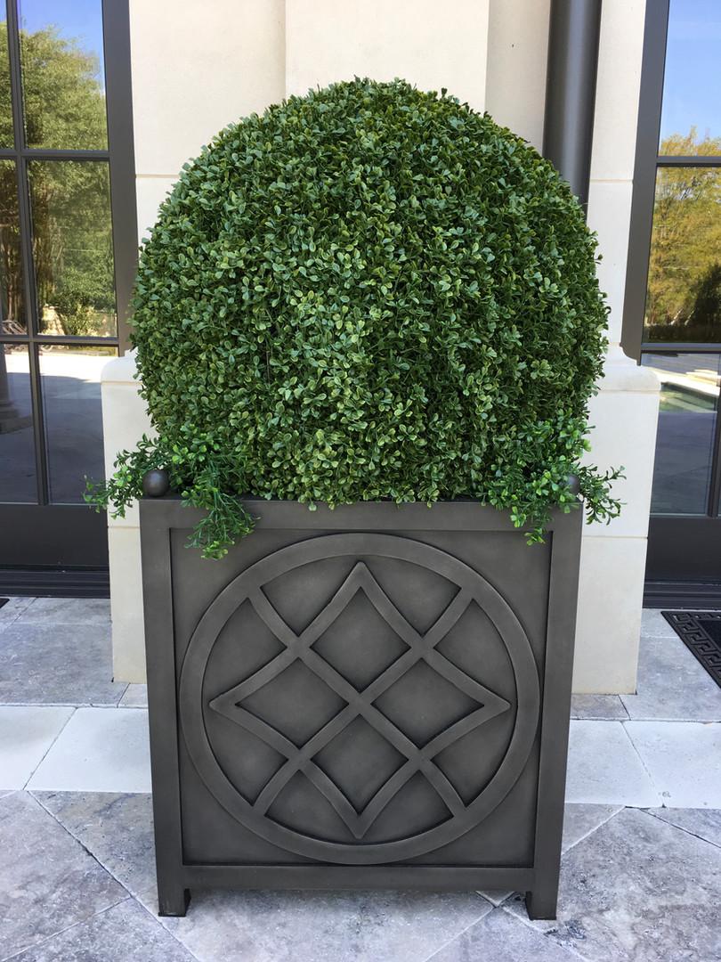 UV Resistant boxwood topiary