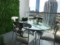Artificial Living Wall for High Rise