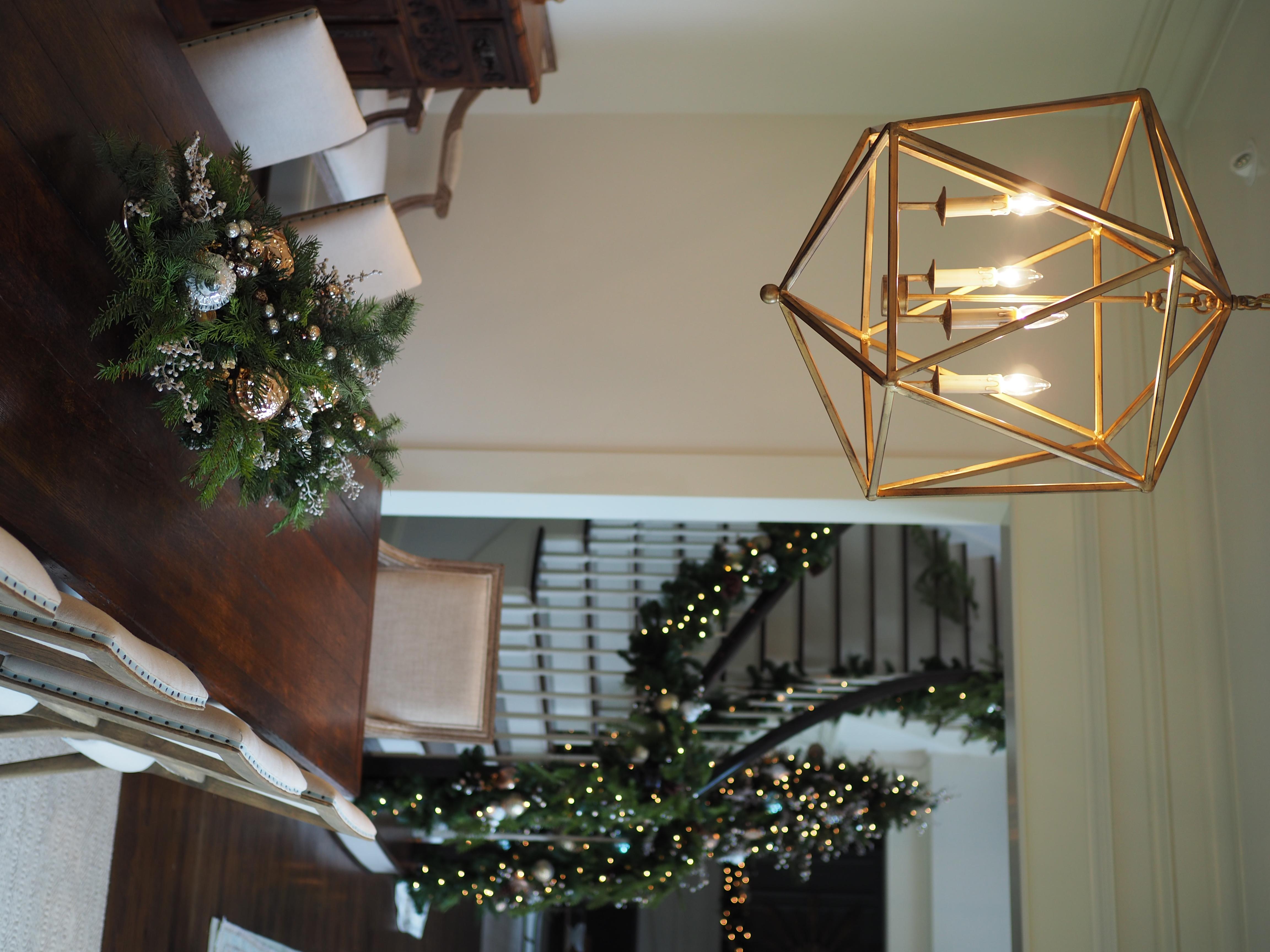 Centerpiece and Stairway Garland