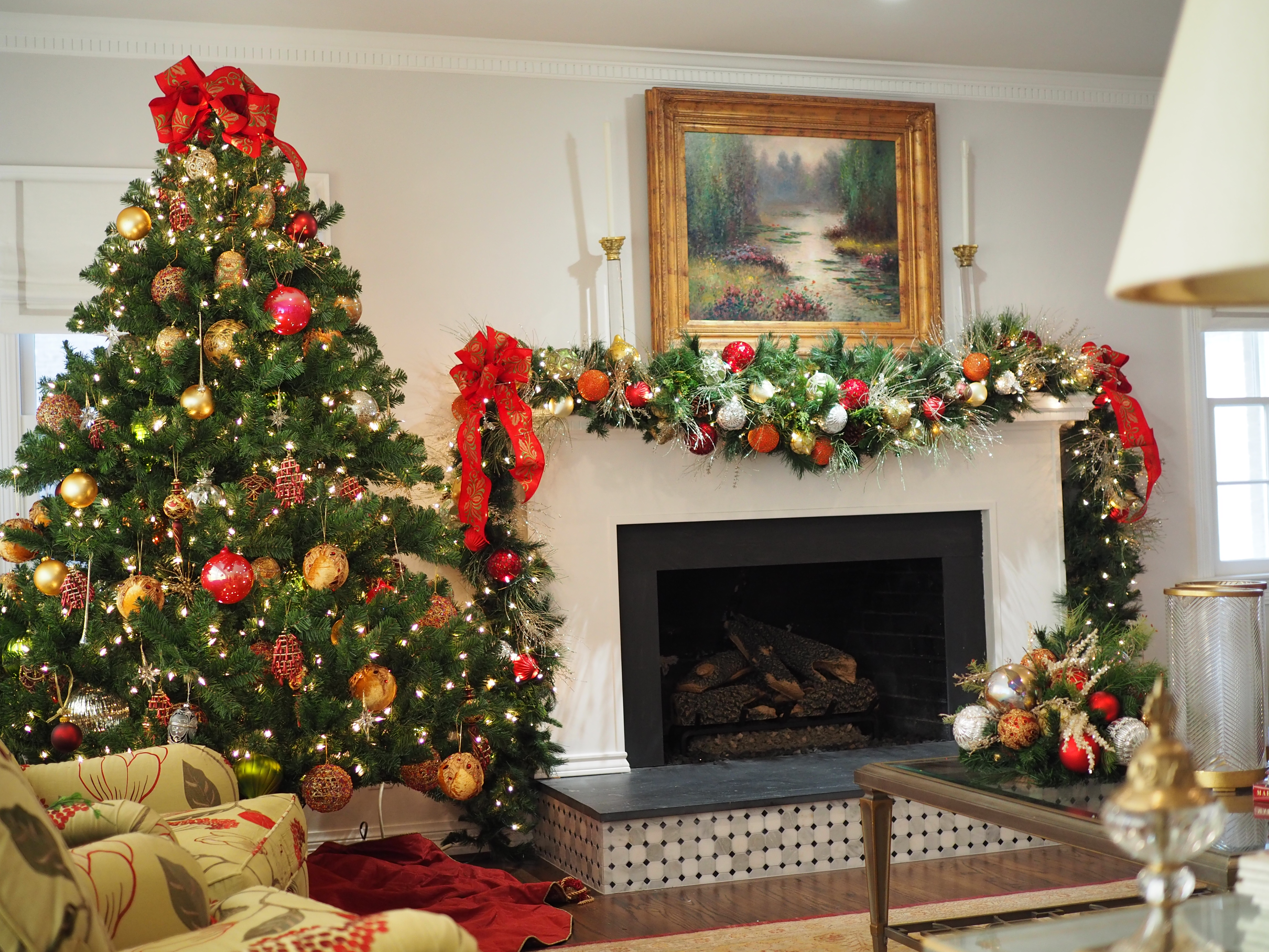 Tree and Mantle Garland