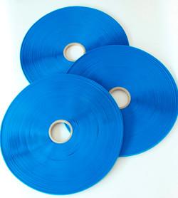 30 cinta Sellado para bolsas permanente liner azul