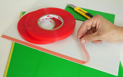 23 Doble faz alto tack liner rojo