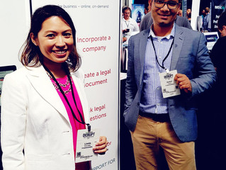 FirstCOUNSEL exhibits at TechCrunch Disrupt 2017 and Singapore Week of Innovation and Technology (SW
