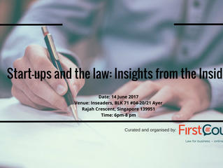 Start-ups and the Law: Insights from the Inside- Episode 1