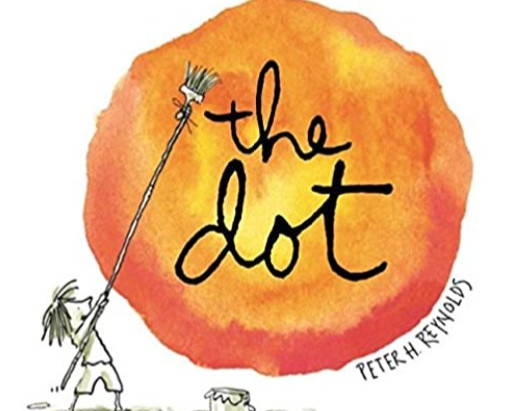 """How """"The Dot"""" by Peter H. Reynolds got me back on track with writing & creating"""