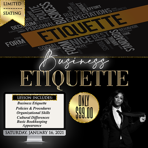 Business Etiquette Training
