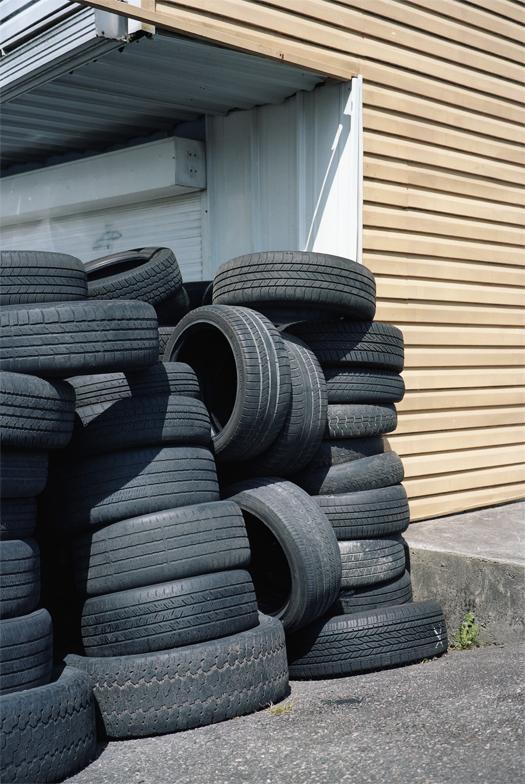 Tires #2, 2015