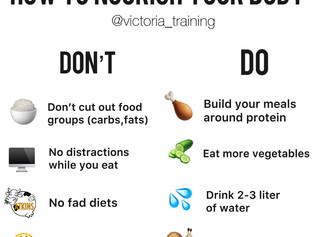 How to nourish yourself