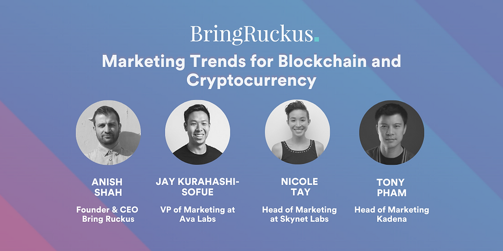 Marketing Trends for Blockchain and Cryptocurrency