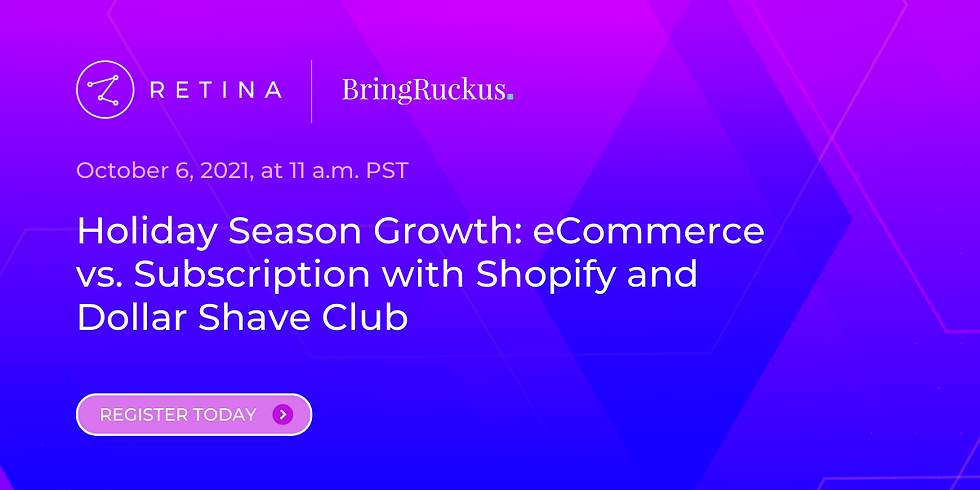 Holiday Season Growth: eCommerce vs. Subscription with Shopify and Dollar Shave Club