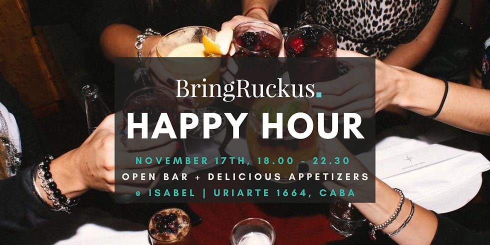 Buenos Aires Happy Hour @ Isabel