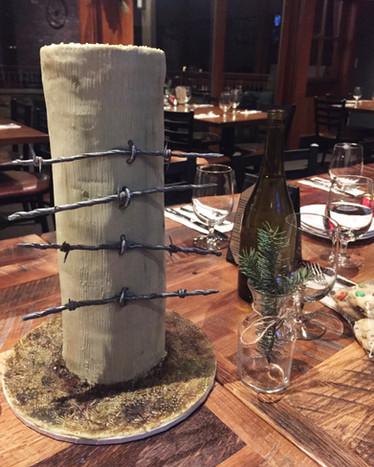 Fence Post Cake