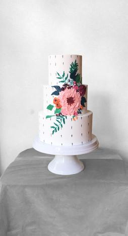 Colorful Wedding Cake