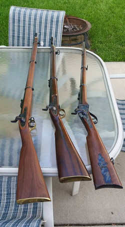 DST Sharps Rifle, Enfield RM and R