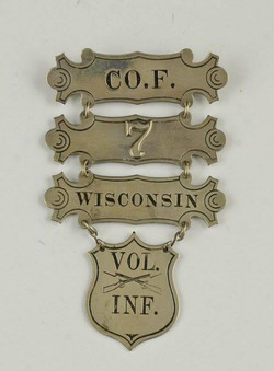 7th Wisconsin Ladder Badge