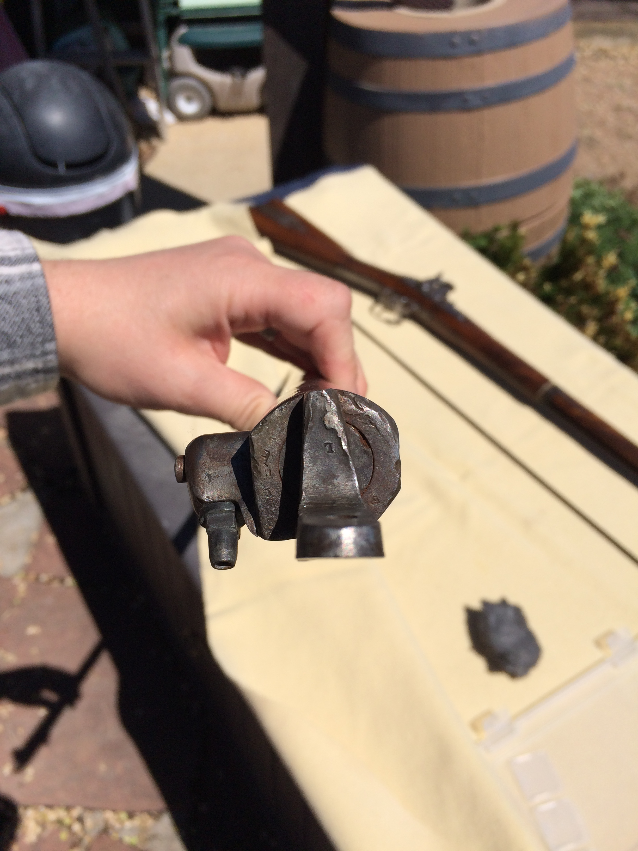 Breech Plug removal markings