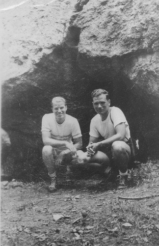 Cave Hill Two Men at Cave.jpg