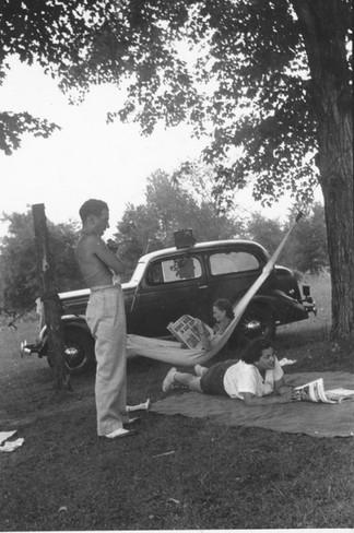 Cave Hill Hammock Reading WWII.jpg