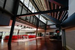 Atrium area with treatment