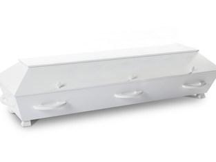Enkel hvit Kr 8 500