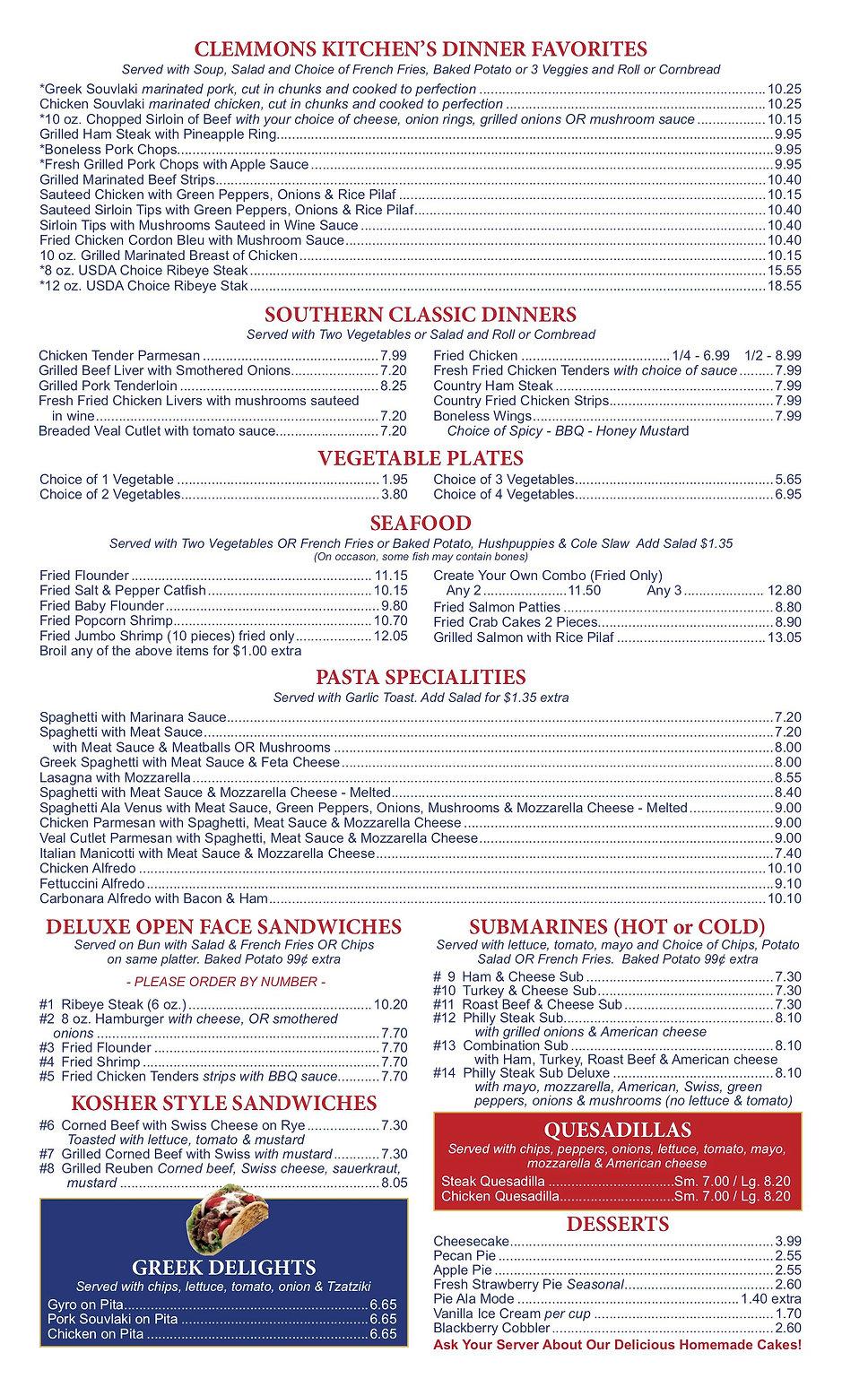 Clemmons Kitchen menu 20202.jpg