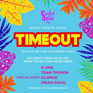 TIMEOUT DJ SPICE