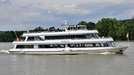MS Beethoven, das Ausflugsschiff