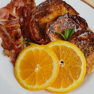 Spiced and Caramelised French Toast
