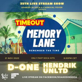 Memonry Lane - Timeout Live Stream Show