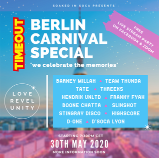 TIMEOUT BERLIN CARNIVAL SPECIAL