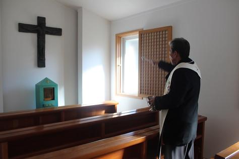 마을 수녀원 축성식