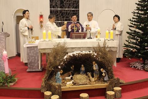 문희종 세례자요한 주교님 마을방문미사