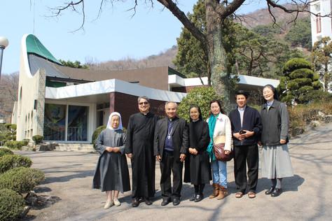 베트남 콘툼 주교님과 부신부님 방문