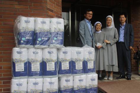 방위사업청 물품기증&봉사활동