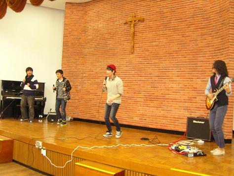 의왕고 위문공연