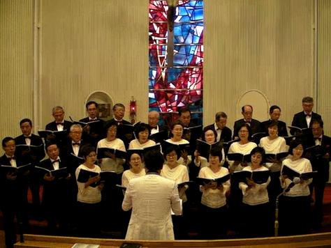전자사랑모임 합창단 e-Chorus 봉사공연