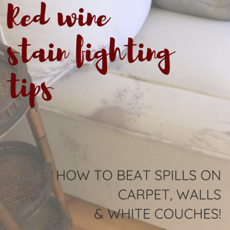 The Best Stain-Fighting Tips for a White Couch