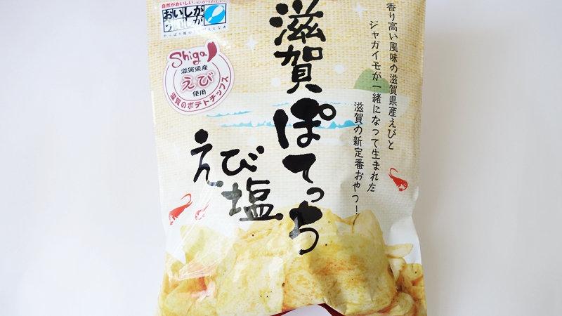 滋賀ぽてっち えび塩100g×20袋