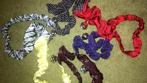 Speedy scrunchie bell rope