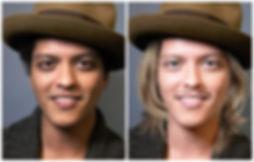 Bruno Mars by Tom Wegrzyn