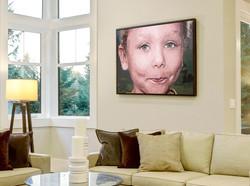 Acrylic portrait by Tom Wegrzyn