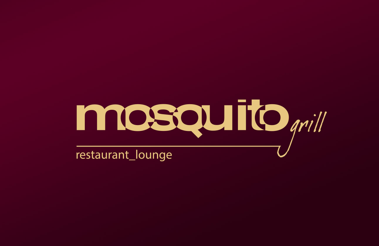 Mosquito Grill logo by Tom Wegrzyn