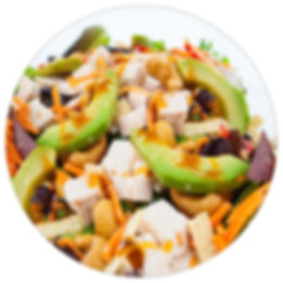 Manzo's Italian Deli Salads are healthy ful of fresh ingrgediets and loaded with love