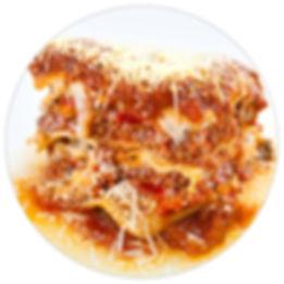 Manzo's Italian Deli Homemade Meat Lasagna