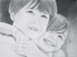 Pencil portrait by Tom Wegrzyn