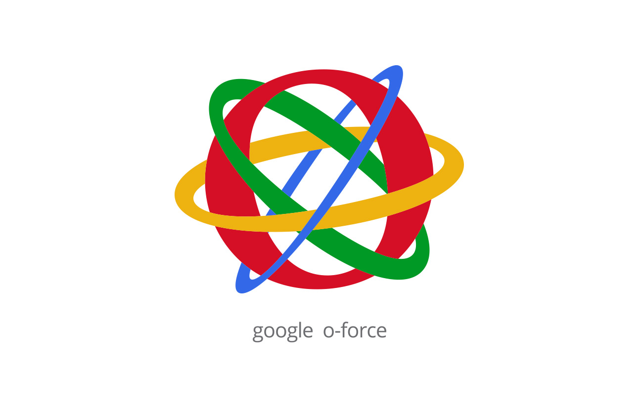Google O-Force logo by Tom Wegrzyn