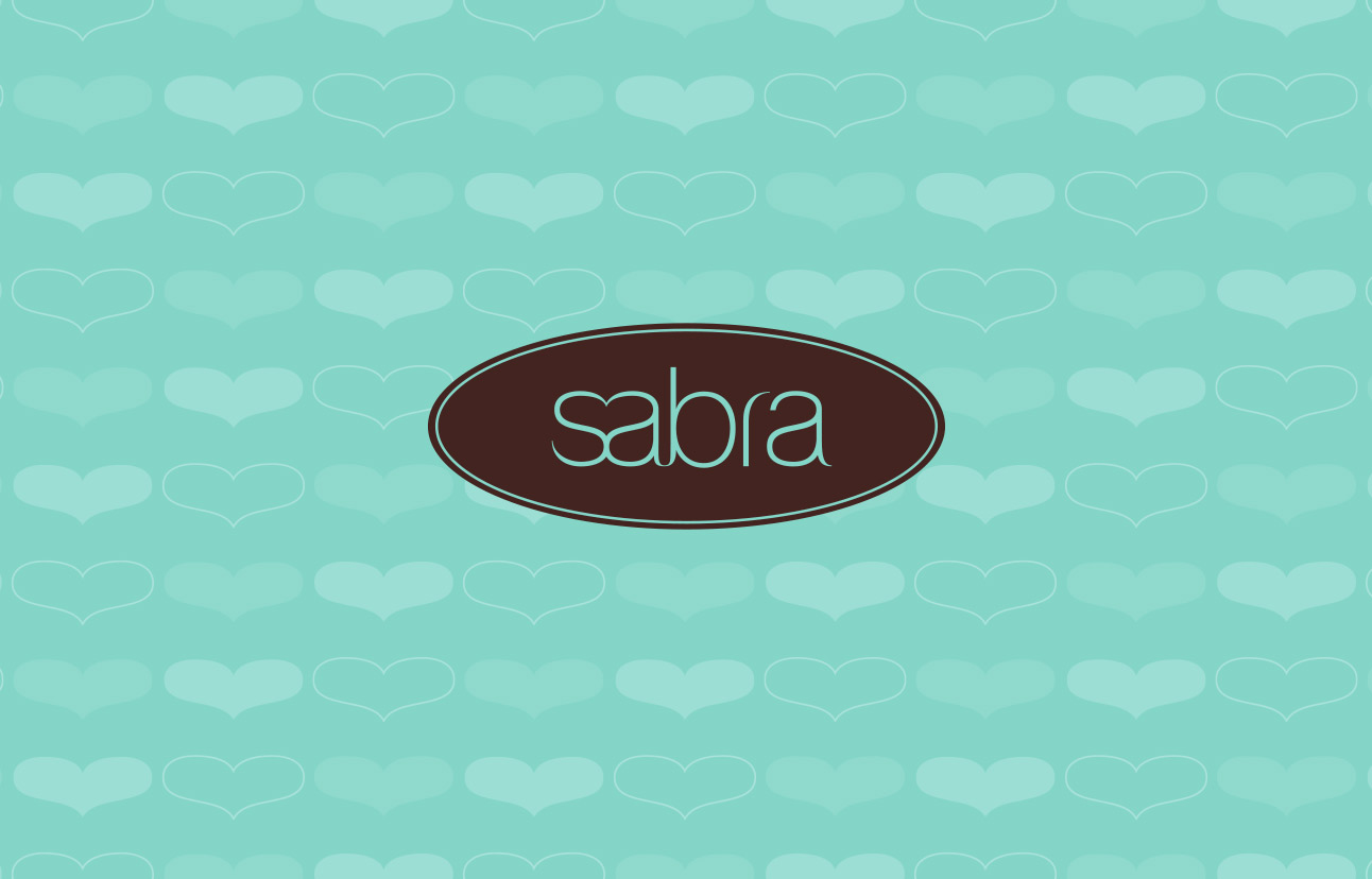 Sabra logo design by Tom Wegrzyn