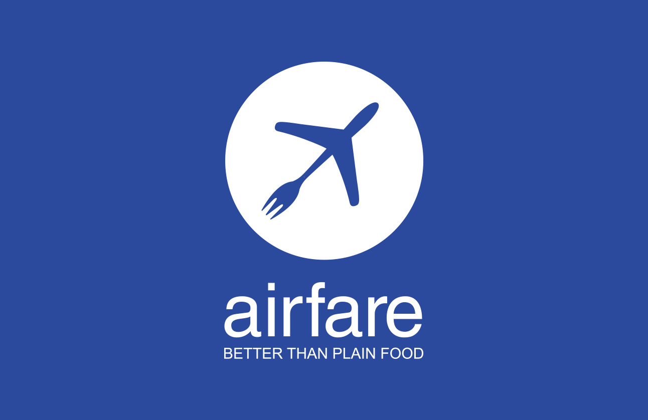 Airfair logo design by Tom Wegrzyn