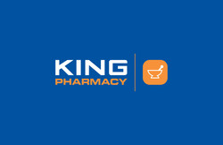 KING Pharmacy logo by Tom Wegrzyn