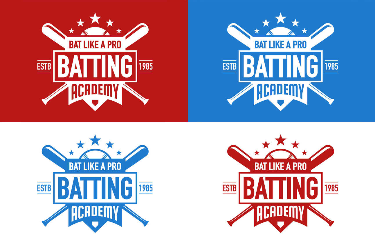 Batting logo by Tom Wegrzyn